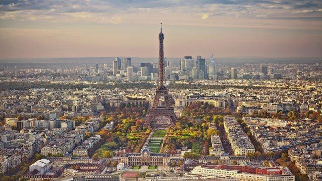 Эйфелева башня Парижа
