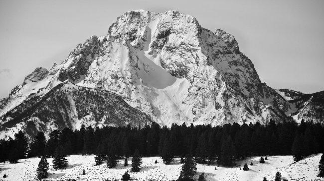 Гора Моран в Вайоминге, США