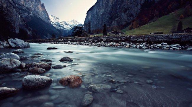 Скалистые горы Швейцарии