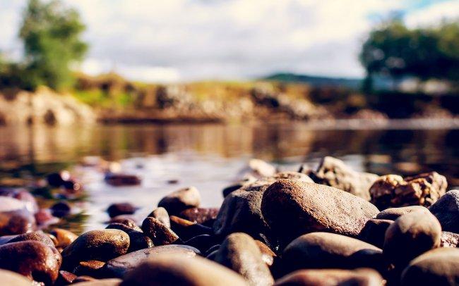 Камни на берегу реки