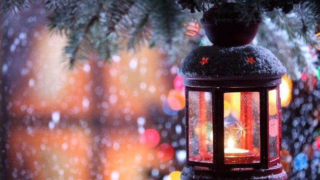 Свеча в фонаре