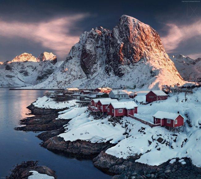 Хамнёй коммуна в Норвегии