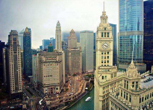 Небоскребы города Чикаго, США