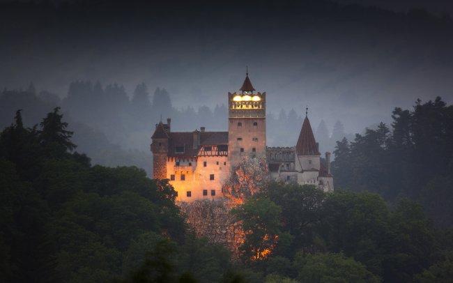 Замок Бран в Трансильвании, Румыния