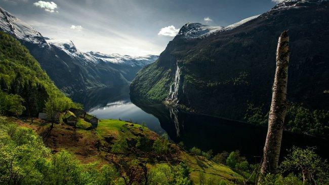 Невероятная красота норвежских фьордов