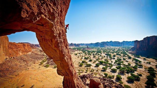 Восхождение на каньон