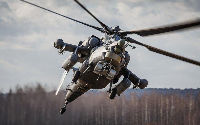 Вертолет Ми-28Н Ночной охотник