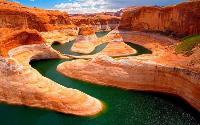Большой каньон в Колорадо, штат Аризона, США
