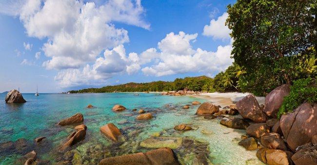 Остров Праслен на Сейшельских Островах