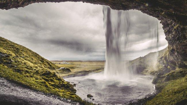 Водопад Сельяландфосс, Исландия