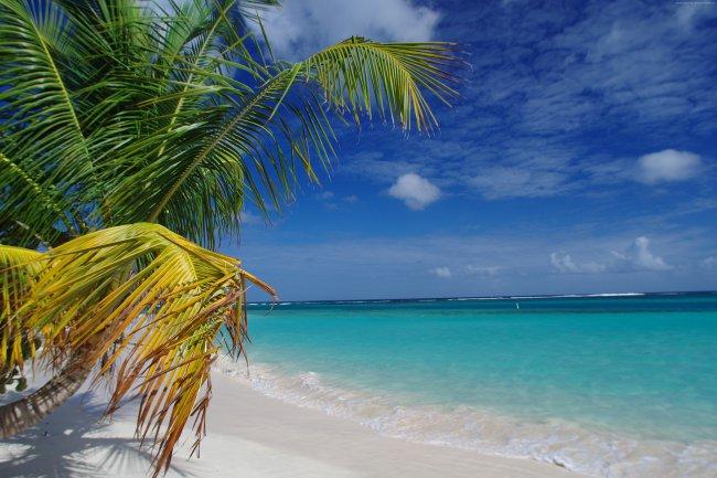 Пляж Фламенко в Пуэрто-Рико