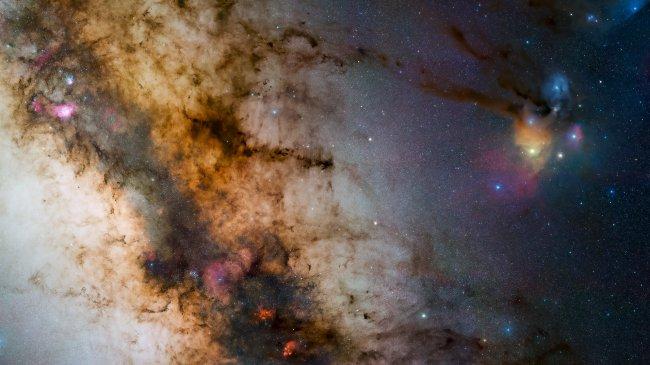Туманность космического пространства
