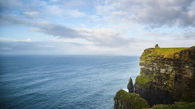 Башня О'Брайена на утесе Мохер, Ирландия