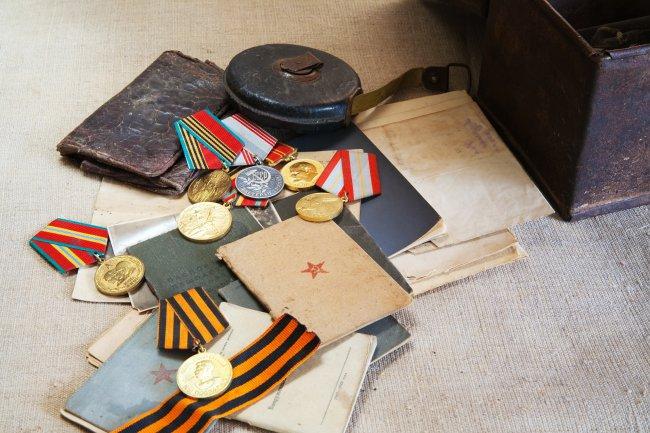 Награды ветеранов ВОВ