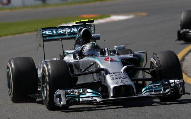 Болид Нико Росберга (Формула 1)