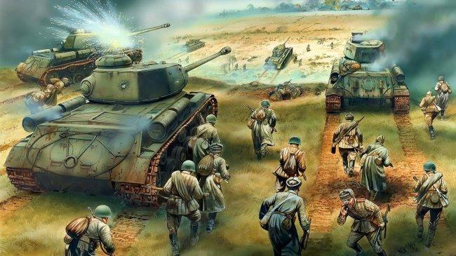 Танковое сражение великой отечественной войны