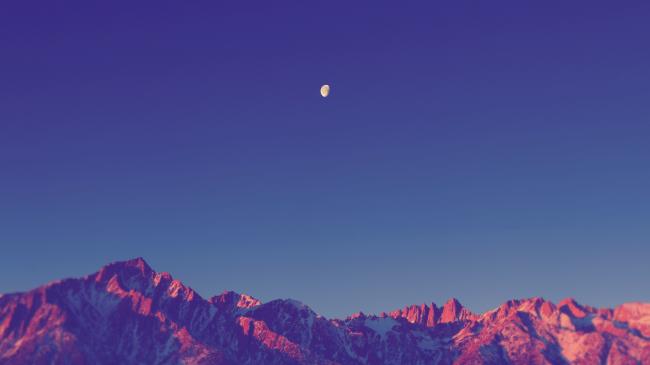 Вечерние горы