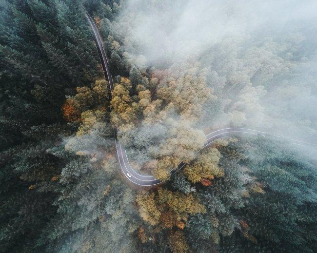 Над облаками в штате Орегон