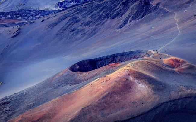 Халикала вулкан и кратер Мауи, Гавайи