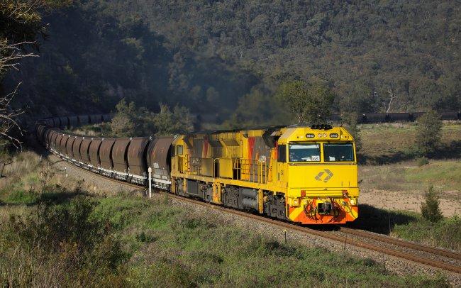 Угольный тепловоз, Австралия