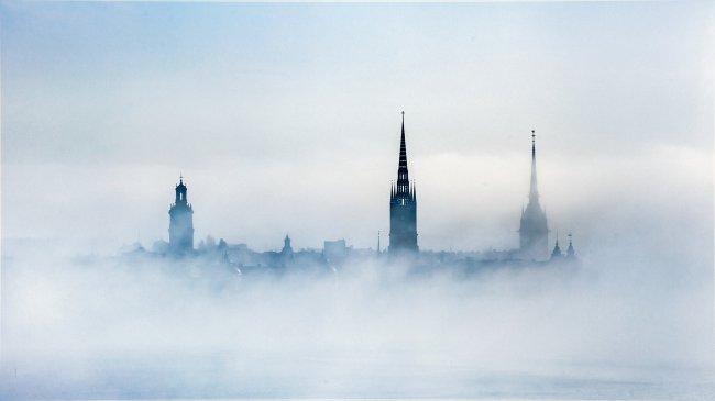Стокгольм в облаках, Швеция