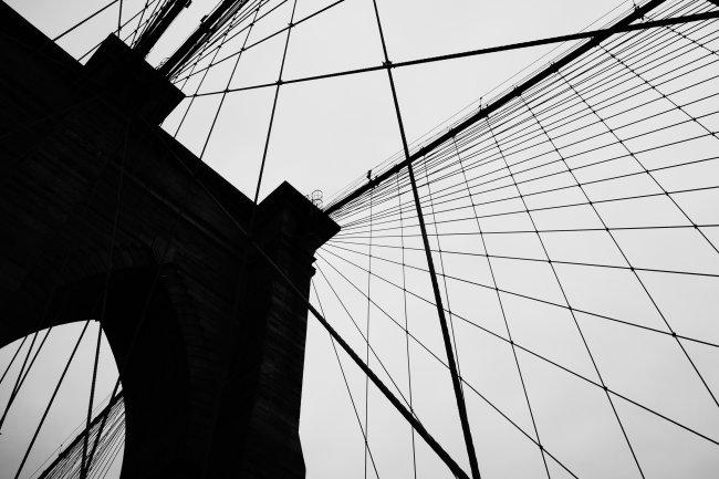 Стропы Бруклинского моста
