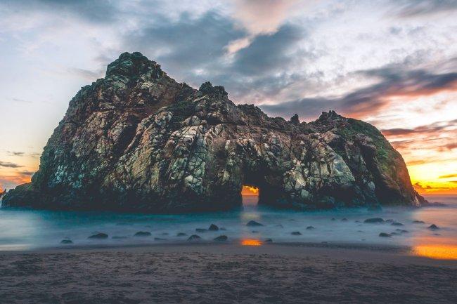 Пляж Пфайфер, Калифорния