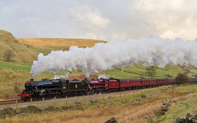 Локомотив LMS Stanier Class 5 4-6-0