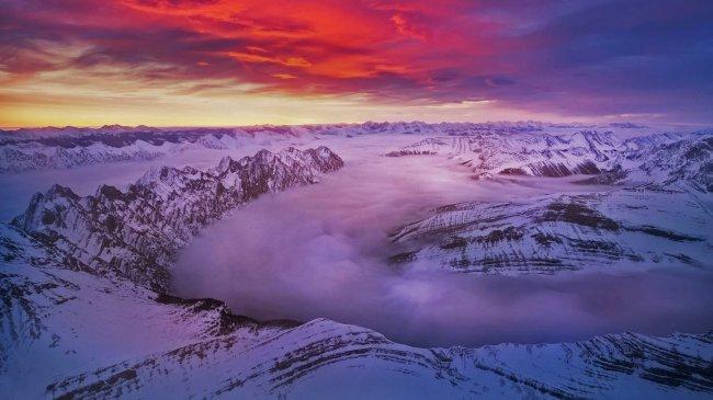 Скалистые горы Альберты в Кананаскисе, Канада