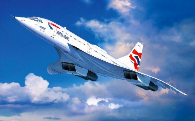 Сверхзвуковой пассажирский самолет Конкорд