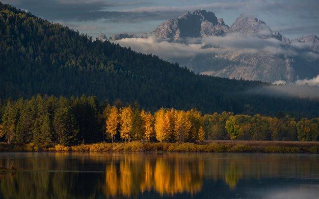 Национальный парк Гранд-Титон, Вайоминг, США