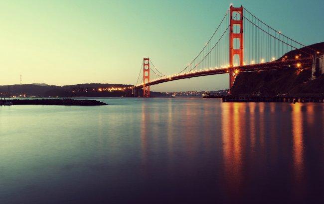 Мост Золотые Ворота через пролив Золотые Ворота