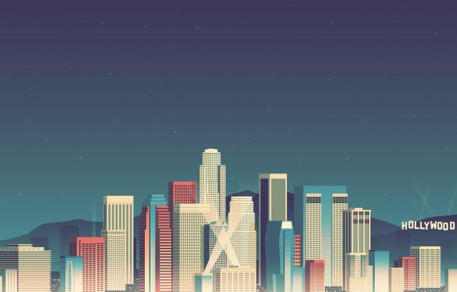 Минималистичный Los Angeles