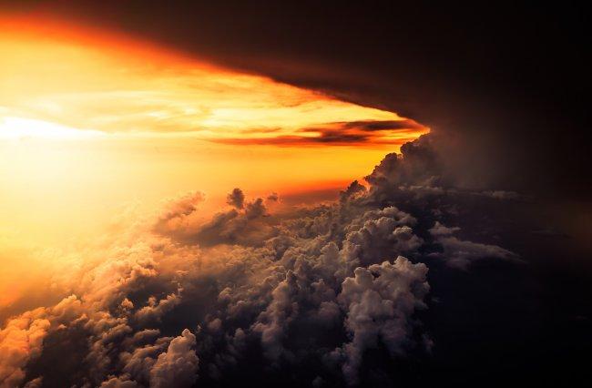 Облачный закат