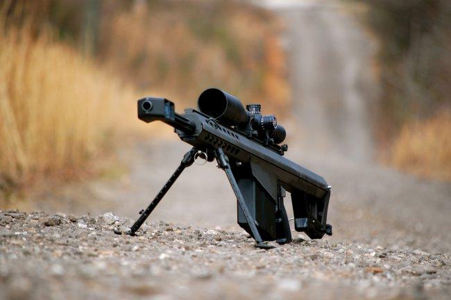 Крупнокалиберная снайперская винтовка Barrett M82