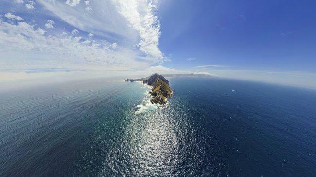 Остров в середине океана
