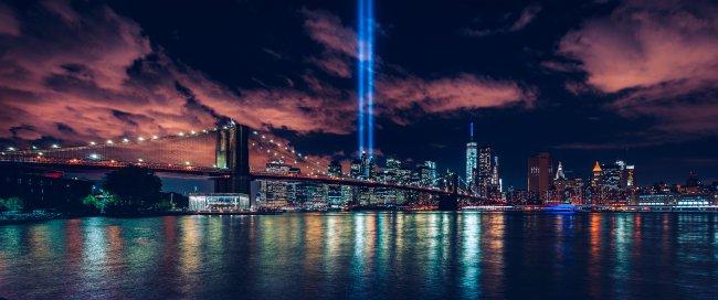 Ночной Манхэттен, Нью-Йорк