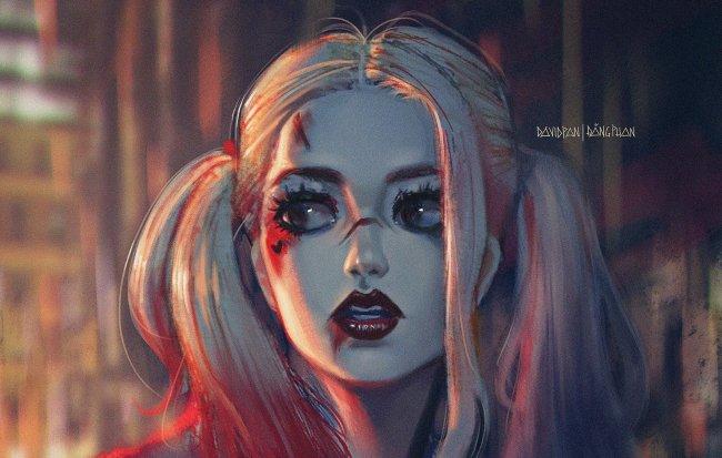 Харли Квинн, арт к фильму Suicide Squad