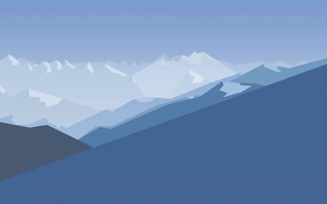Минималистичные горы