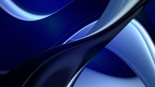 Синие и голубые полосы