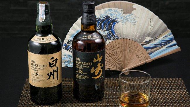 Японский виски Suntory Hakushu