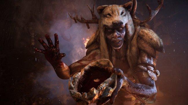 Шаман из игры Far Cry Primal