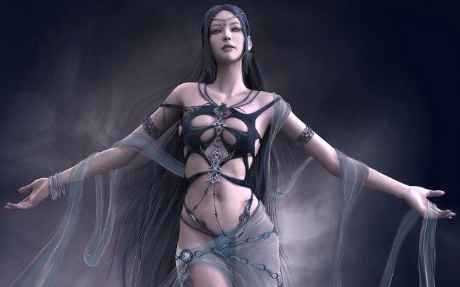 Желания богини (Тёмная эльфийка)