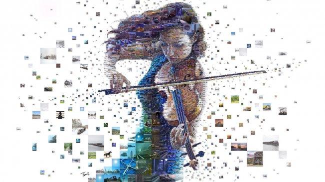 Девушка скрипачка