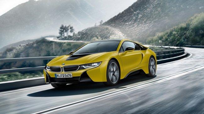 BMW i8 Frozen