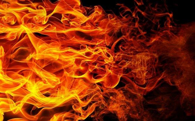 Огненное пламя