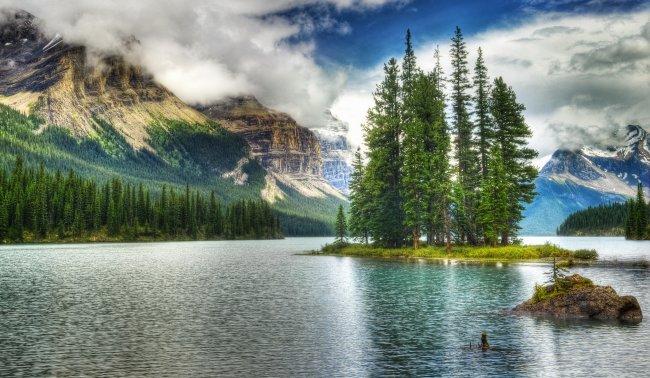 Национальный парк Джаспер, Канада