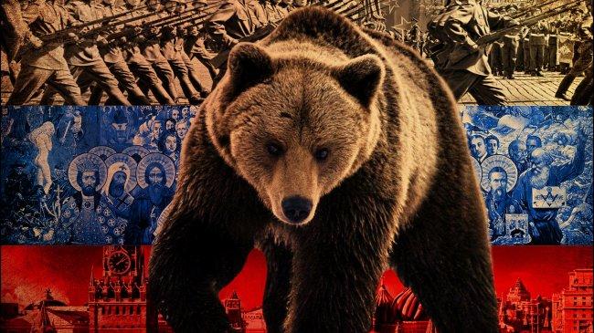 Медведь на фоне российских событий