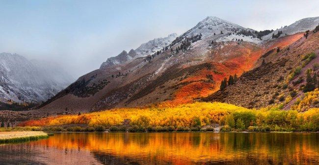 Северное озеро в горах Сьерра-Невада, Калифорния