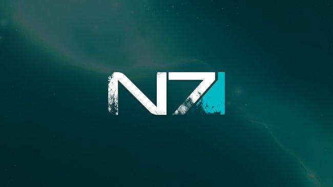 N7 логотип игры  Mass Effect